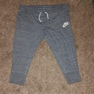 Nike cropped sweats